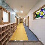 旭あじさい保育園-1階 玄関・廊下